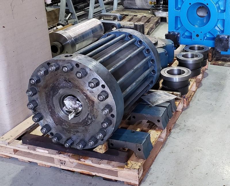 Recuperação cilindro hidráulico