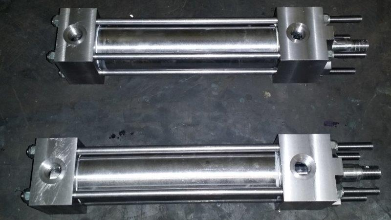 Reparo de cilindro hidráulico