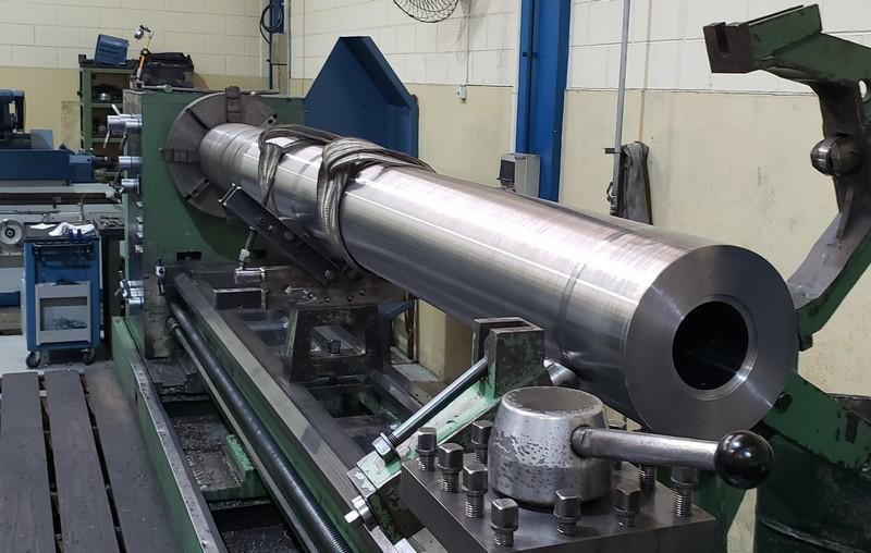 Recuperação cilindro
